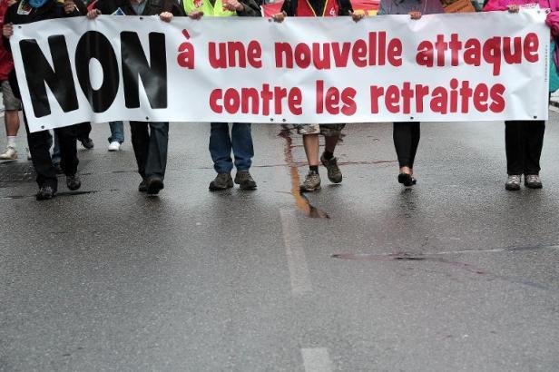 Soutien aux mobilisations contre la réforme des retraites