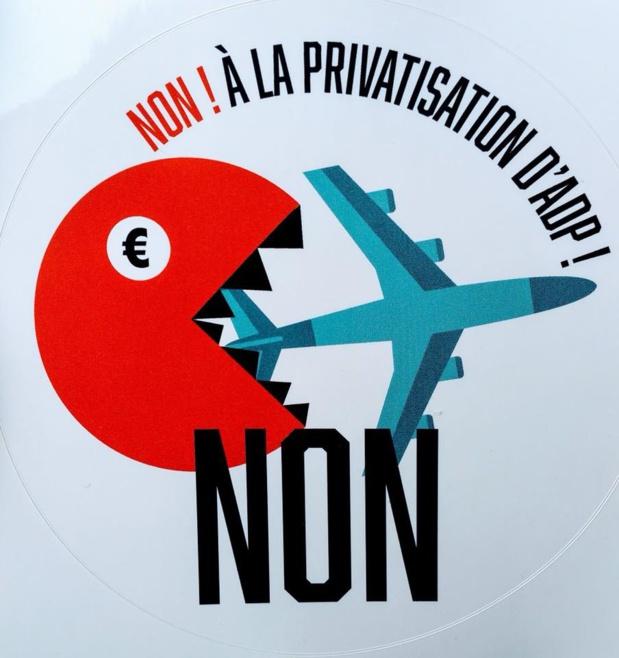 Contre la privatisation d'aéroport de Paris