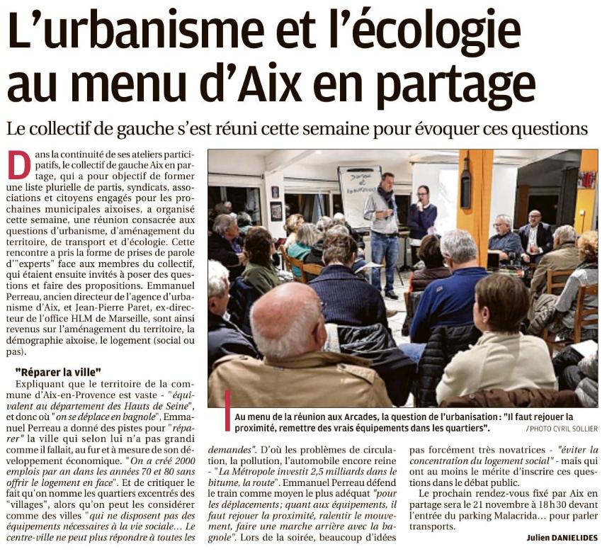 Ecologie et Urbanisme au programme