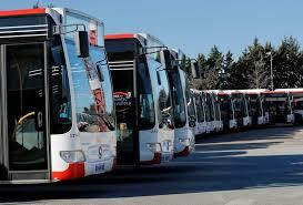 Soutien aux salariés d'Aix en bus.
