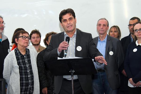 #Municipales : Marc Pena tête de liste d'Aix en partage