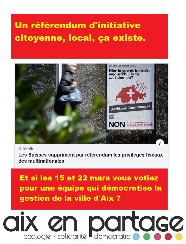 Référendum d'Initiative Citoyenne,  local