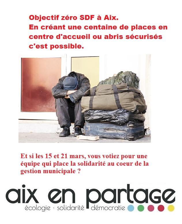 Zéro SDF à Aix