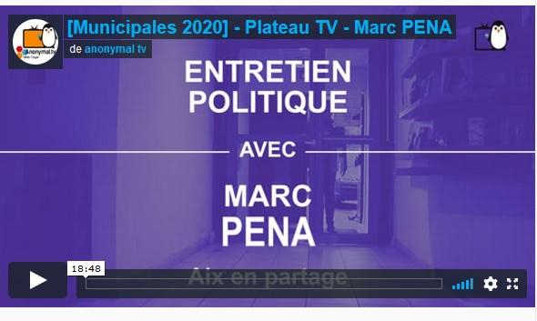 Anonymal TV interviewe Marc Pena